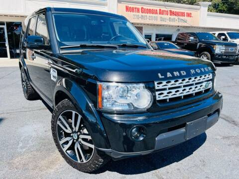 2012 Land Rover LR4 for sale at North Georgia Auto Brokers in Snellville GA