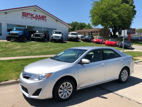 2012 Toyota Camry for sale at Efkamp Auto Sales LLC in Des Moines IA