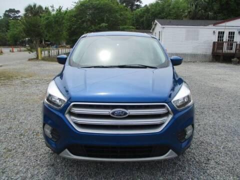 2017 Ford Escape for sale at Special Finance of Charleston LLC in Moncks Corner SC