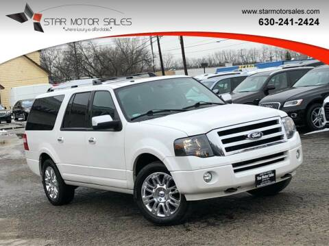2014 Ford Expedition EL for sale at Star Motor Sales in Downers Grove IL