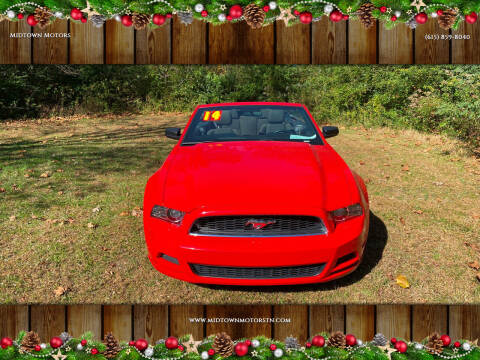 2014 Ford Mustang for sale at Midtown Motors in Greenbrier TN