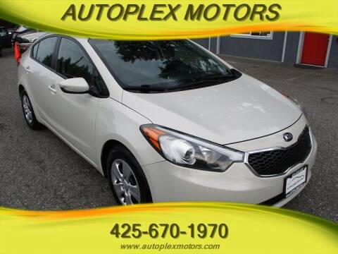 2015 Kia Forte for sale at Autoplex Motors in Lynnwood WA