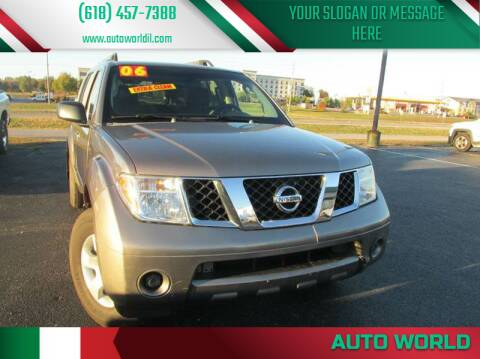 2006 Nissan Pathfinder for sale at Auto World in Carbondale IL