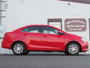 2017 Chevrolet Sonic for sale at Brubakers Auto Sales in Myerstown PA