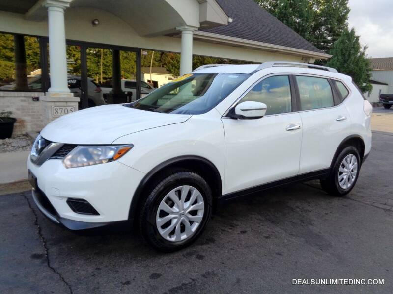 2016 Nissan Rogue for sale at DEALS UNLIMITED INC in Portage MI