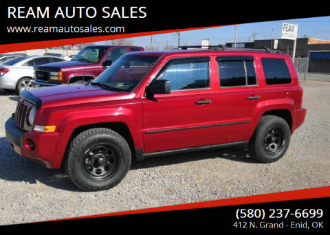 2008 Jeep Patriot for sale at REAM AUTO SALES in Enid OK