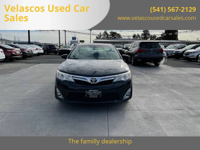 2013 Toyota Camry for sale at Velascos Used Car Sales in Hermiston OR