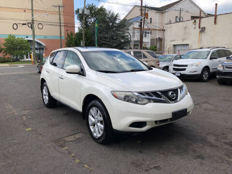 2012 Nissan Murano for sale at 103 Auto Sales in Bloomfield NJ