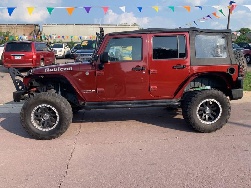 2007 Jeep Wrangler Unlimited for sale at Los Arreglados Auto Sales in Worthington MN