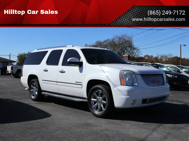 2012 GMC Yukon XL for sale at Hilltop Car Sales in Knox TN