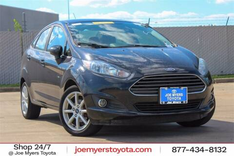 2019 Ford Fiesta for sale at Joe Myers Toyota PreOwned in Houston TX