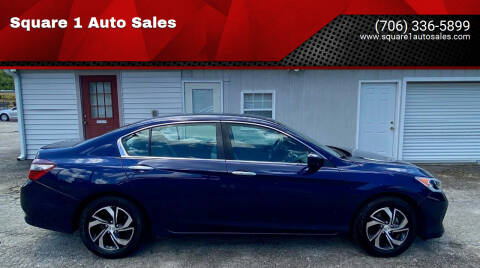 2017 Honda Accord for sale at Square 1 Auto Sales - Commerce in Commerce GA
