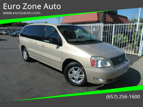 2007 Ford Freestar for sale at Euro Zone Auto in Stanton CA