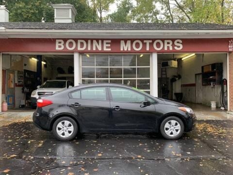 2015 Kia Forte for sale at BODINE MOTORS in Waverly NY