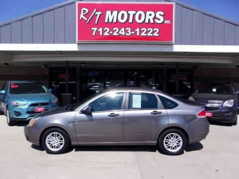 2011 Ford Focus for sale at RT Motors Inc in Atlantic IA