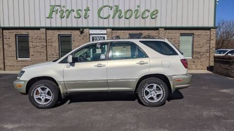 1999 Lexus RX 300 for sale at First Choice Auto in Greenville SC