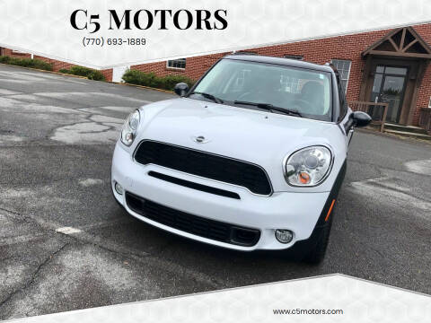 2011 MINI Cooper Countryman for sale at C5 Motors in Marietta GA