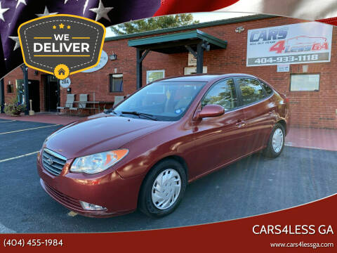 2007 Hyundai Elantra for sale at Cars4Less GA in Alpharetta GA