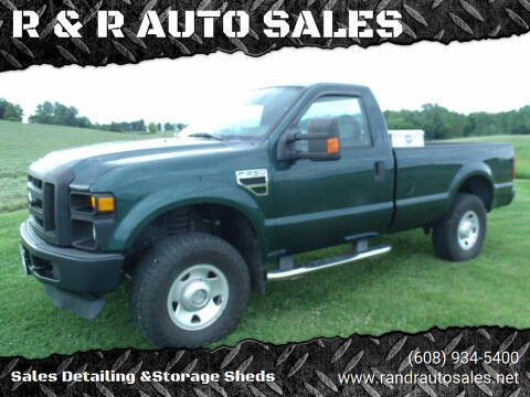 2009 Ford F-250 Super Duty for sale at R & R AUTO SALES in Juda WI