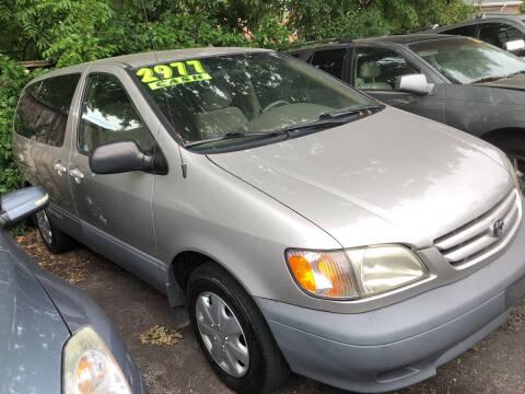 2001 Toyota Sienna for sale at Klein on Vine in Cincinnati OH