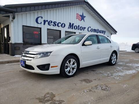 2012 Ford Fusion for sale at Cresco Motor Company in Cresco IA