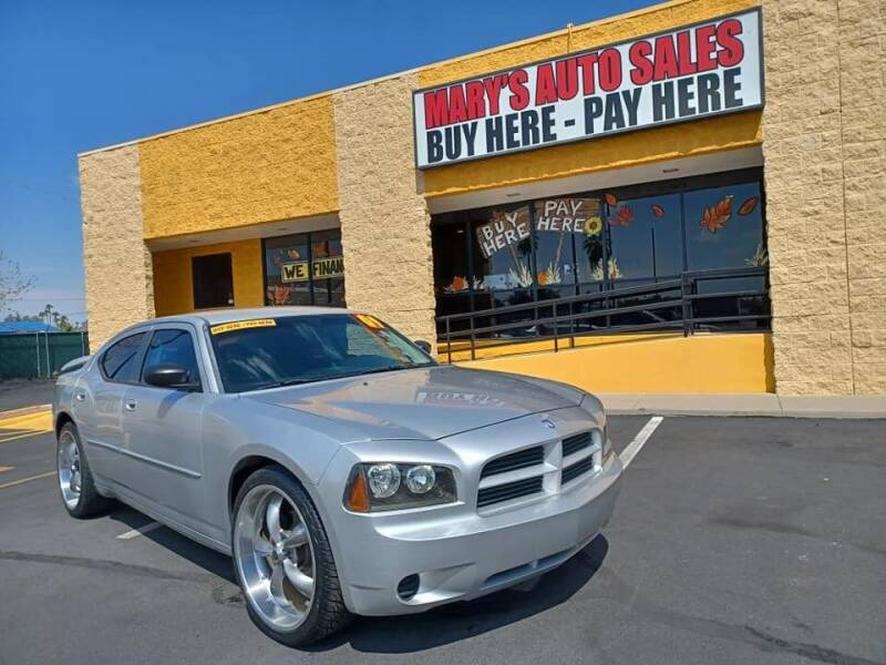 2009 Dodge Charger for sale at Marys Auto Sales in Phoenix AZ