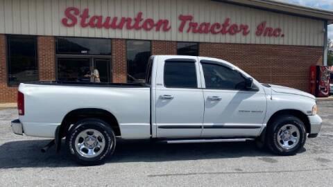 2002 Dodge Ram Pickup 1500 for sale at STAUNTON TRACTOR INC in Staunton VA