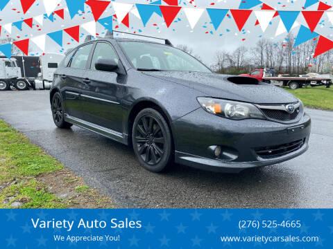 2010 Subaru Impreza for sale at Variety Auto Sales in Abingdon VA