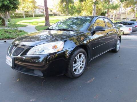 2006 Pontiac G6 for sale at E MOTORCARS in Fullerton CA