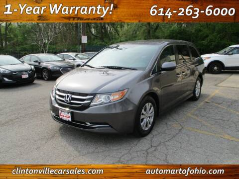 2016 Honda Odyssey for sale at Clintonville Car Sales - AutoMart of Ohio in Columbus OH