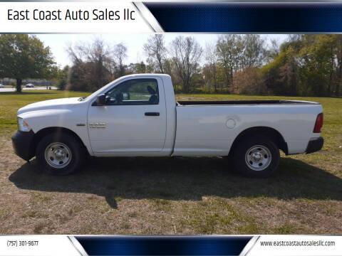 2013 RAM Ram Pickup 1500 for sale at East Coast Auto Sales llc in Virginia Beach VA