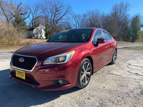2015 Subaru Legacy for sale at Community Auto Sales & Service in Fayette MO