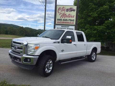 2014 Ford F-250 Super Duty for sale at City Motors in Mascot TN