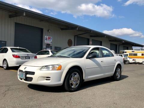 2002 Dodge Stratus for sale at DASH AUTO SALES LLC in Salem OR