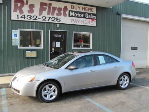 2008 Pontiac G6 for sale at R's First Motor Sales Inc in Cambridge OH