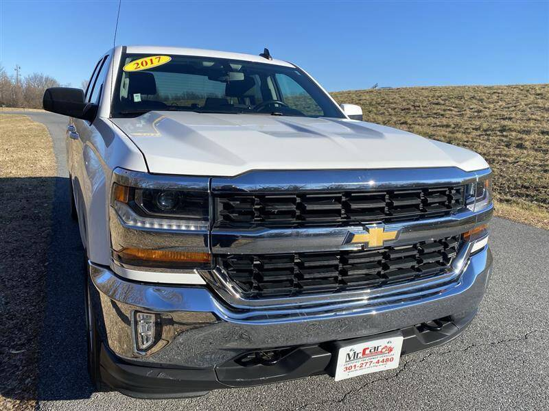 2017 Chevrolet Silverado 1500 for sale at Mr. Car City in Brentwood MD