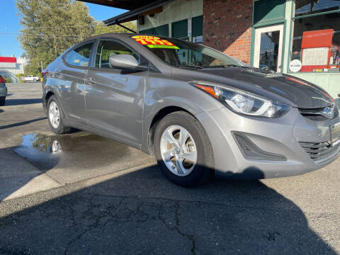 2014 Hyundai Elantra for sale at Low Auto Sales in Sedro Woolley WA