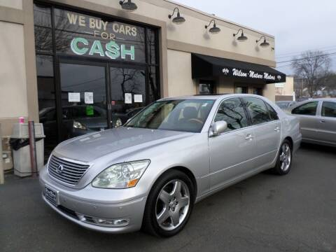 2005 Lexus LS 430 for sale at Wilson-Maturo Motors in New Haven Ct CT