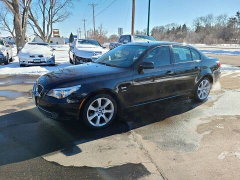 2009 BMW 5 Series for sale at Premier Motors LLC in Crystal MN