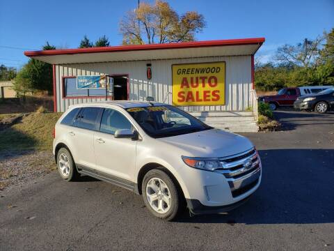2013 Ford Edge for sale at Greenwood Auto Sales in Greenwood AR