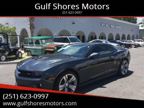 2012 Chevrolet Camaro for sale at Gulf Shores Motors in Gulf Shores AL