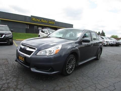 2014 Subaru Legacy for sale at MIRA AUTO SALES in Cincinnati OH