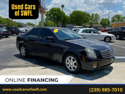 2006 Cadillac CTS for sale at Used Cars of SWFL in Fort Myers FL