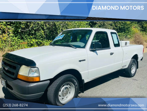 2000 Ford Ranger for sale at Diamond Motors in Lakewood WA