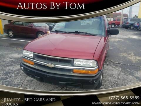 2001 Chevrolet S-10 for sale at Autos by Tom in Largo FL