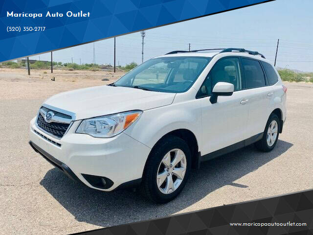 2016 Subaru Forester for sale at Maricopa Auto Outlet in Maricopa AZ