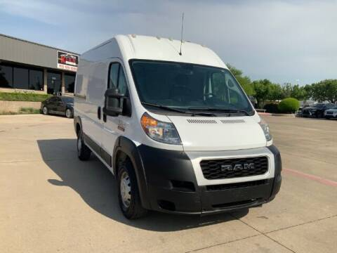 2019 RAM ProMaster Cargo for sale at KIAN MOTORS INC in Plano TX