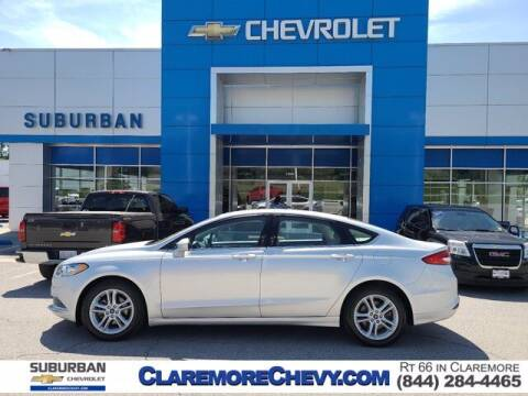 2018 Ford Fusion for sale at Suburban Chevrolet in Claremore OK