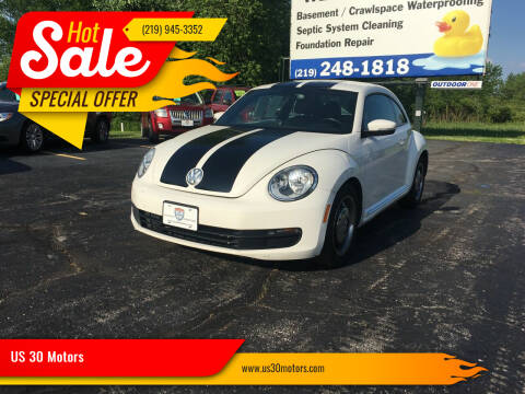 2013 Volkswagen Beetle for sale at US 30 Motors in Merrillville IN