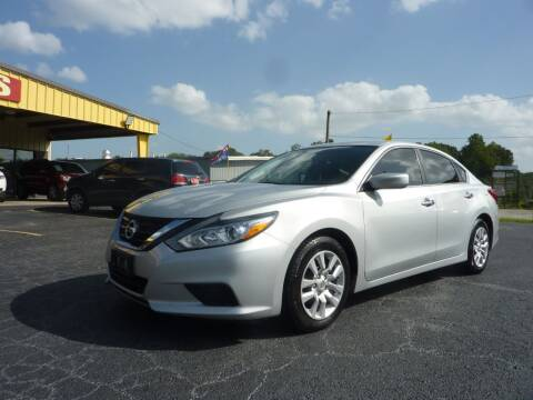 2016 Nissan Altima for sale at Roswell Auto Imports in Austell GA